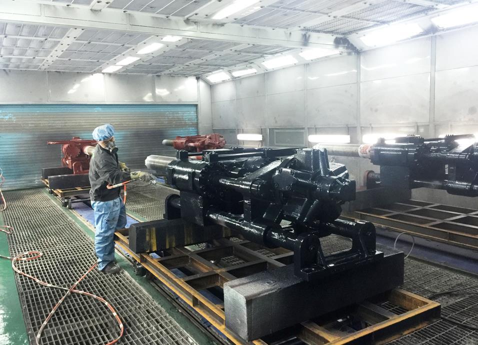 福建机械喷漆设备